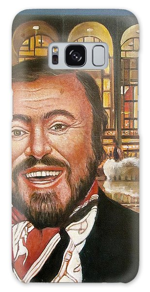 Pavarotti And The Ghost Of Lincoln Center Galaxy Case by Melinda Saminski