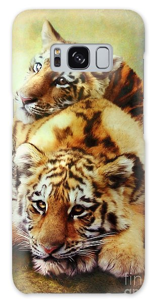 Petit Tigres Galaxy Case