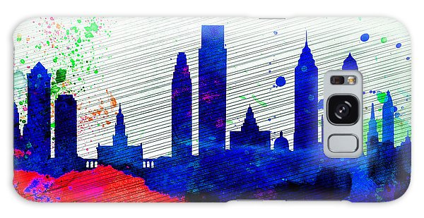 Philadelphia City Skyline Galaxy Case by Naxart Studio