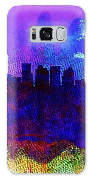Phoenix Watercolor Skyline 1 Galaxy Case