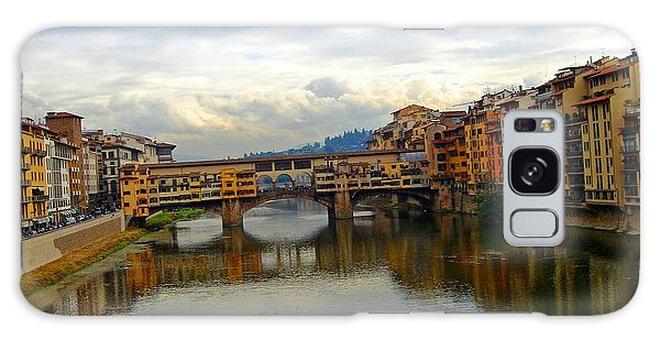 Ponte Vecchio's Padlocks Galaxy Case