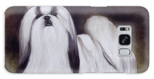 Pretty Showdog Shih Tzu Galaxy Case by Melinda Saminski