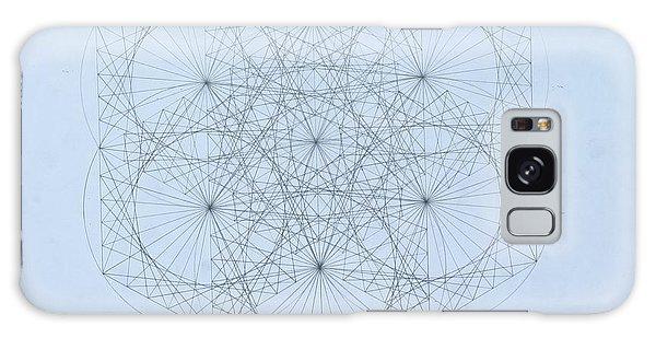 Quantum Snowflake Galaxy Case