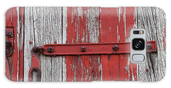 Railroad Car Door Galaxy Case