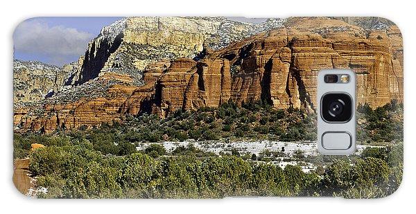Red Rock-secret Mountain Wilderness Galaxy Case