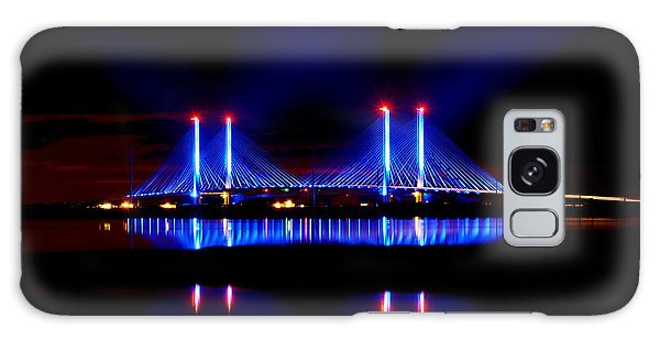 Reflecting Bridge - Indian River Inlet Bridge Galaxy Case