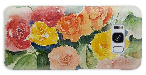 Roses For You Still Life Galaxy Case