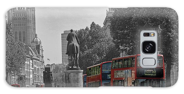 Routemaster London Buses Galaxy Case by Tony Murtagh