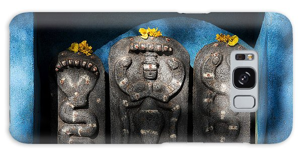 Rural Indian Hindu Shrine  Galaxy Case