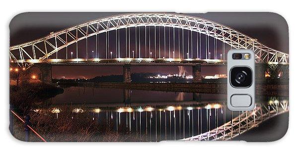 Silver Jubilee Bridge Galaxy Case
