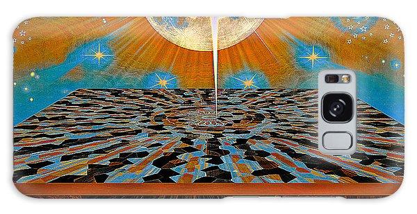 Galaxy Case featuring the digital art  Solar Energy by Eleni Mac Synodinos