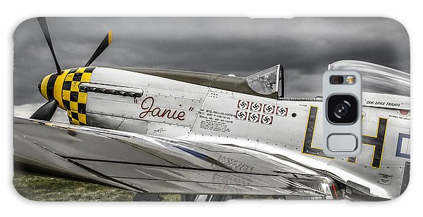 Stormy Sky Mustang Galaxy Case by Chris Smith