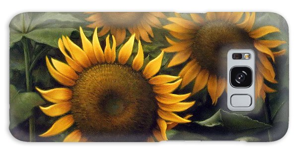 Sunflower 4 Galaxy Case