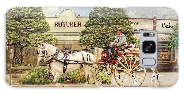 The Butchers Cart Galaxy Case
