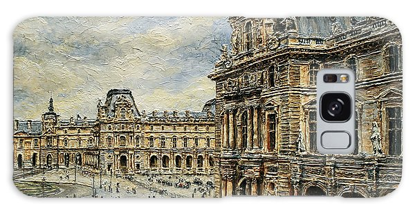 The Louvre Museum Galaxy Case by Joey Agbayani