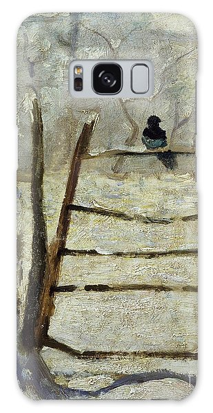 The Magpie Galaxy Case by Claude Monet