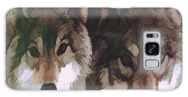 Together Forever Wolves Galaxy Case