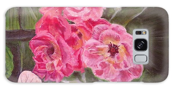 Touch Of The Roses Painting Galaxy Case by Kimberlee Baxter