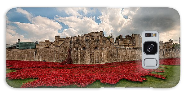 Tower Of London Remembers.  Galaxy Case