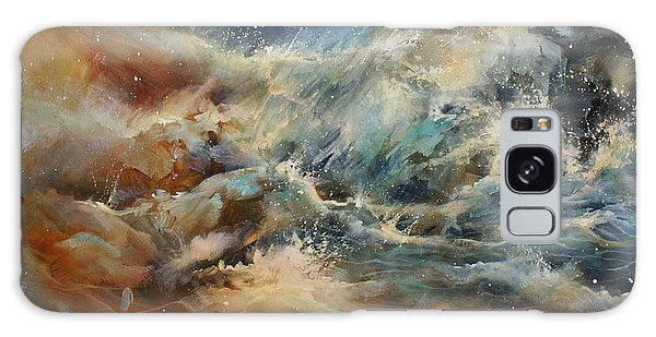 Abstract Expressionism Galaxy Case - ' Turmoil ' by Michael Lang