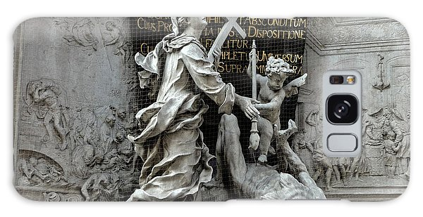 Vienna Austria - Plague Monument Galaxy Case