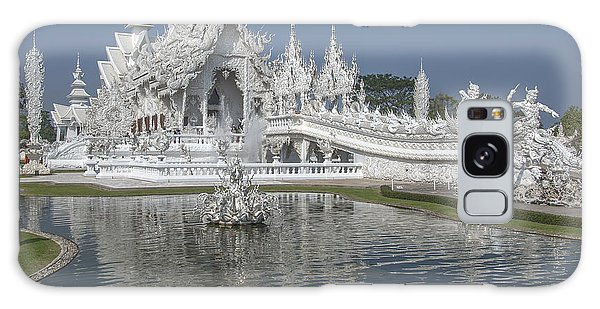 Wat Rong Khun Ubosot Dthcr0001 Galaxy Case