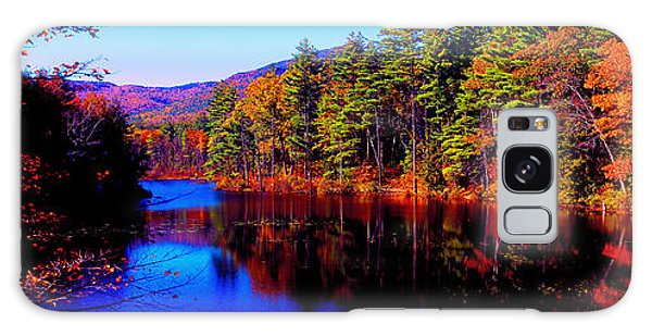 White Mountians National Park Red Eagle Pond New Hampshire Galaxy Case