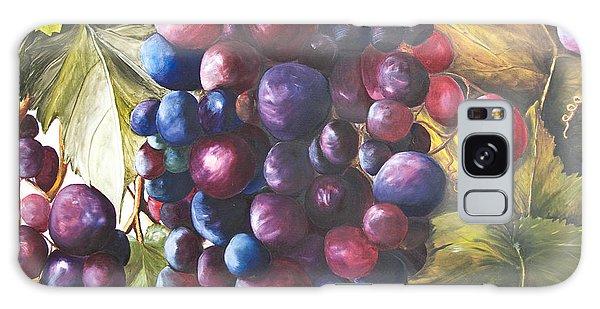 Wine Grapes On A Vine Galaxy Case