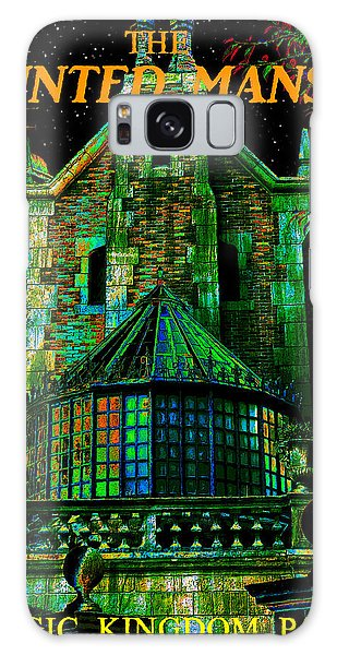 Old Florida Galaxy Case - Haunted Mansion Poster Work A by David Lee Thompson