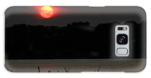Galaxy Case featuring the photograph 0016 White Rock Lake Dallas Texas by Francisco Pulido