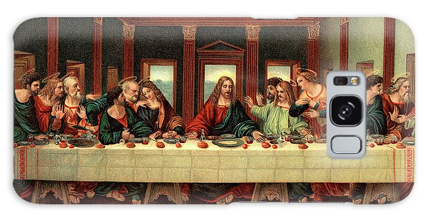 Communion Galaxy Case - 0030s The Last Supper After Leonardo Da by Vintage Images