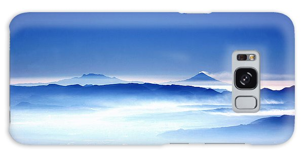 Galaxy Case featuring the photograph 00704 Vulcanos Mexico by Francisco Pulido
