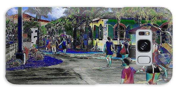St Croix Stencil  Galaxy Case