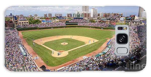 0100 Wrigley Field - Chicago Illinois Galaxy Case