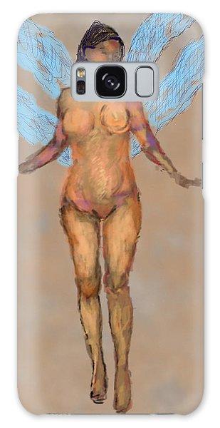 010715 Pastel Digital Fairy Galaxy Case