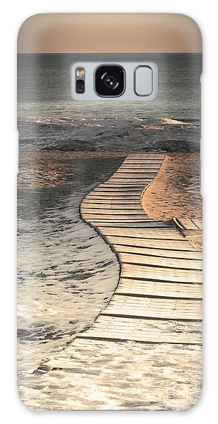 0160 Evanston Boardwalk Galaxy Case