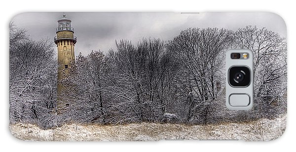 0243 Grosse Point Lighthouse Evanston Illinois Galaxy Case