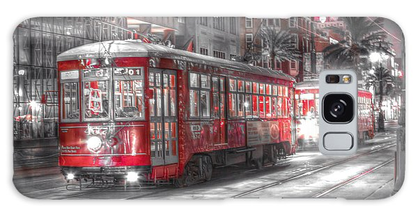 0271 Canal Street Trolley - New Orleans Galaxy Case