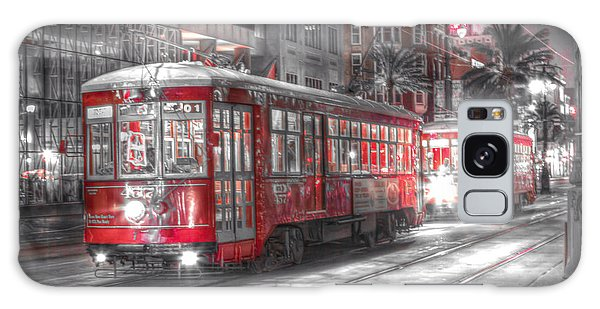0271 New Orleans Street Car Galaxy Case