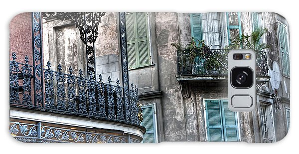 0275 New Orleans Balconies Galaxy Case