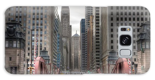 0295 Lasalle Street Chicago Galaxy Case