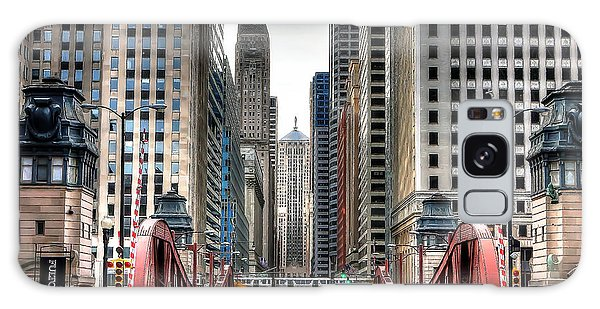 0295b Lasalle Street Bridge Galaxy Case