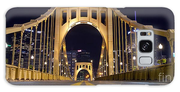 0304 Roberto Clemente Bridge Pittsburgh Galaxy Case