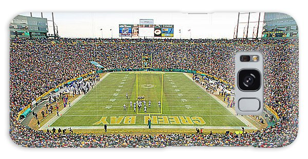 0349 Lambeau Field Panoramic Galaxy Case
