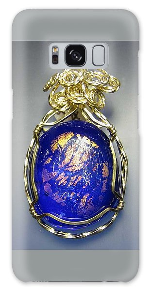 0477 Cobalt Scape Galaxy Case