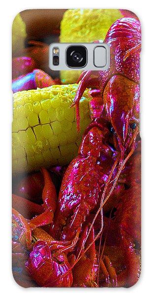 05092010 Boiled Mud Bugs Galaxy Case