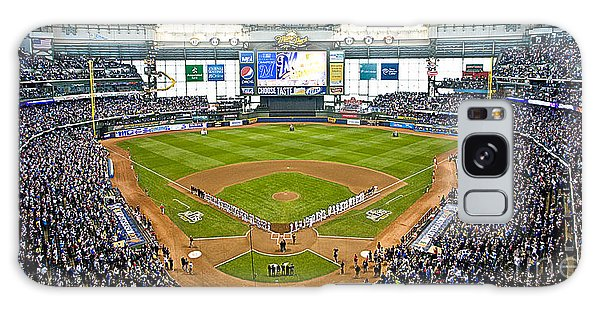 0546 Nlds Miller Park Milwaukee Galaxy Case