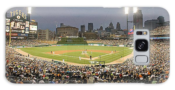 0555 Comerica Park Detroit Galaxy Case