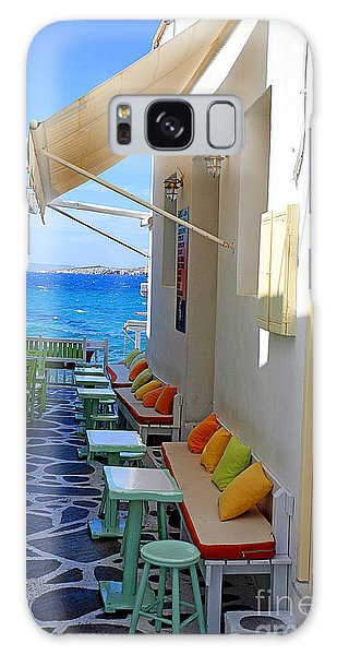 0560 Mykonos Greece Galaxy Case