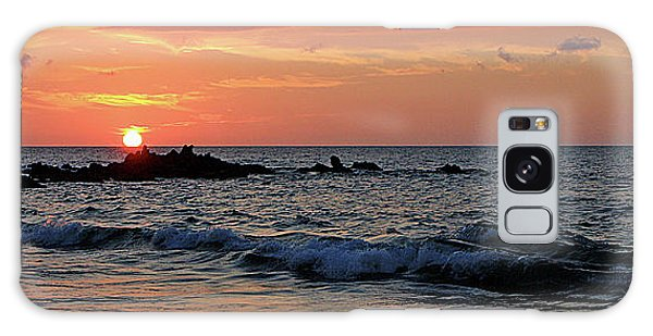 0581 Maui Sunset 2 Galaxy Case